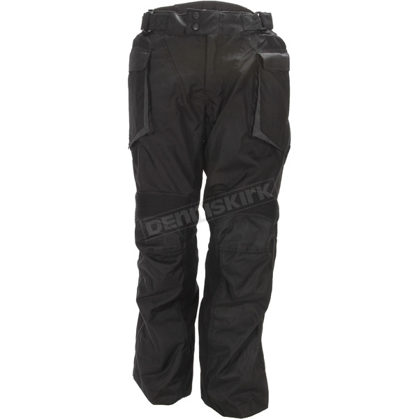 Cortech Black Sequoia Backpack XC Adventure Touring Pants - 8921-0105-07