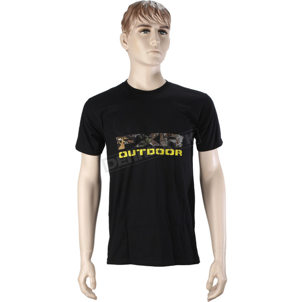 FXR Racing Black Outdoor T-Shirt - 16857.10019