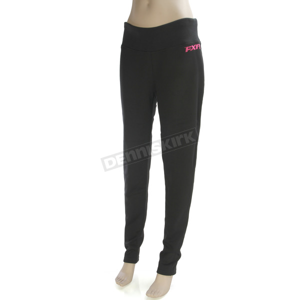 FXR Racing Women's Black Elevation Tech Pants - 171014-1000-16