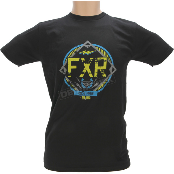 FXR Racing Black Freedom Squad T-Shirt - 171311-1040-19