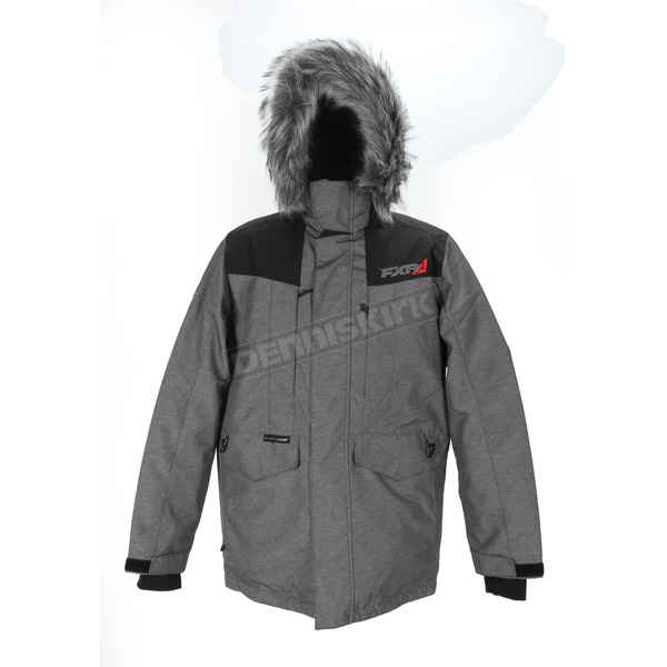 FXR Racing Charcoal/Black Svalbard Parka - 170022-0810-10