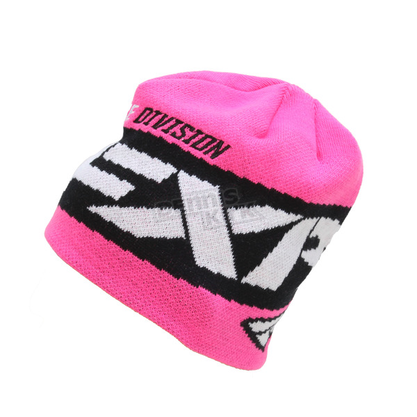 FXR Racing Electric Pink Podium Beanie - 171615-9400-00