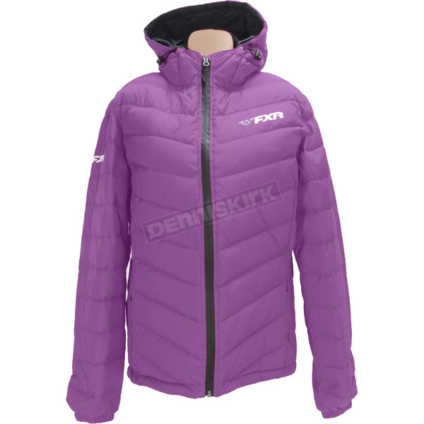 FXR Racing Women's Wineberry Elevation Down Jacket - 170218-8500-12
