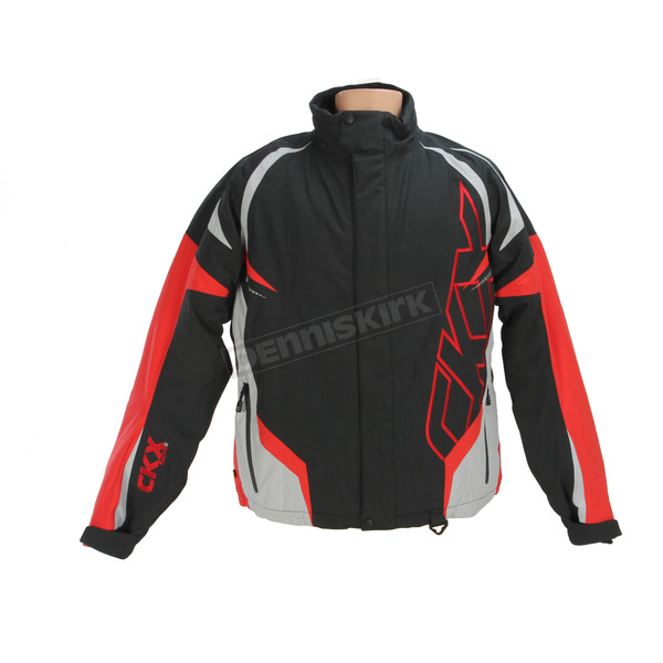 CKX Black/Red/Silver Rush Racing Snow Jacket - M17306_BKRD_L