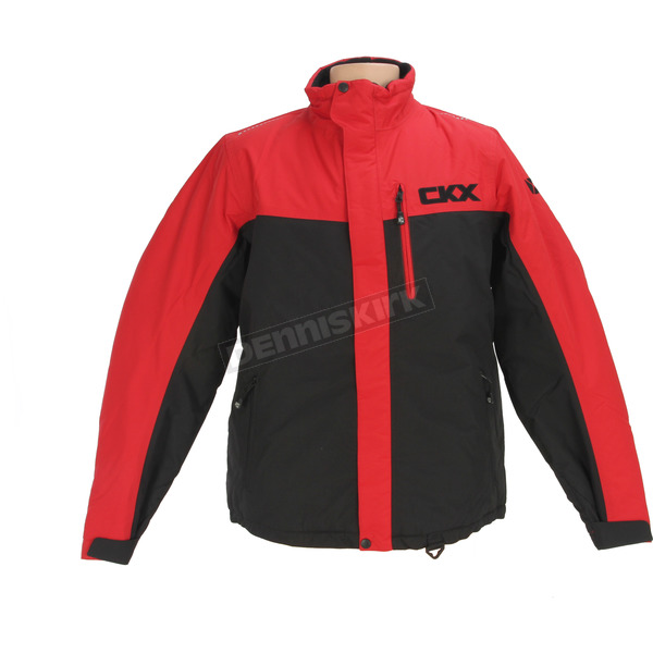 CKX Black/Red Recreation Trail Snow Jacket - M17312_RD_3XL