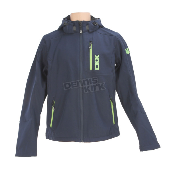 CKX Navy/Charged Green Revelstoke Jacket - M17209_NAVY_L
