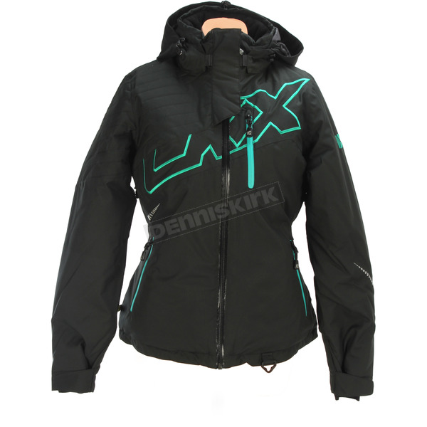CKX Women's Black/Jade Mirage Backcountry Jacket - L17305_BKBK_M