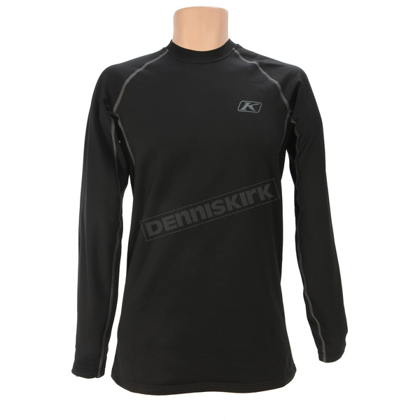 Klim Black Aggressor 2.0 Base Layer Shirt - 3198-001-130-000