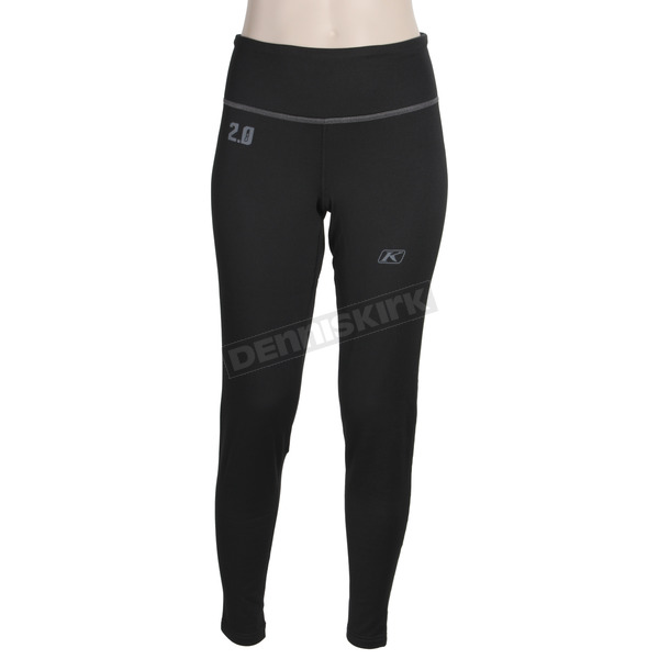 Klim Women's Black Solstice 2.0 Base Layer Pants - 3202-001-130-000