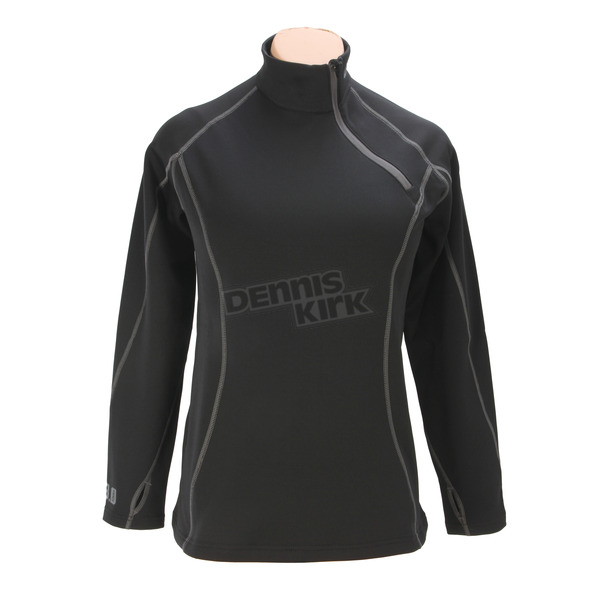 Klim Black Women's Solstice 3.0 Base Layer Shirt - 3287-001-130-000