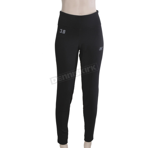 Klim Women's Black Solstice 3.0 Base Layer Pants - 3288-001-130-000