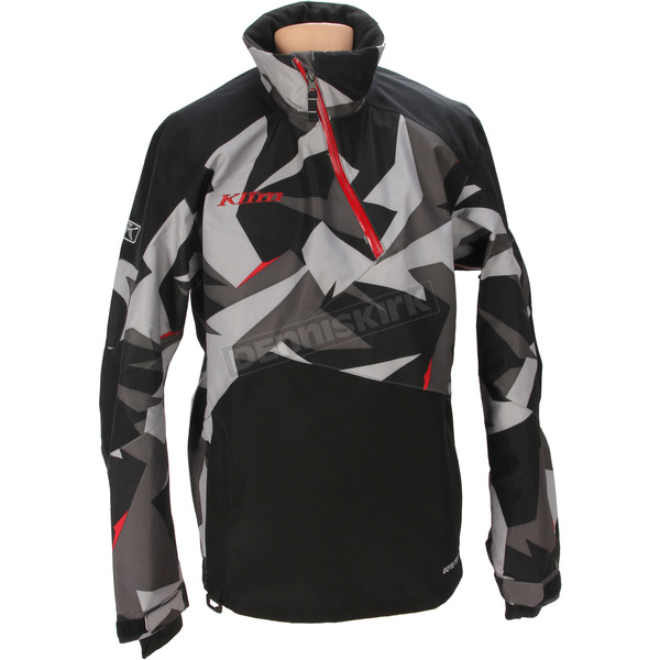 Klim Black/Gray Camo PowerXross Pullover Jacket - 3572-007-160-330