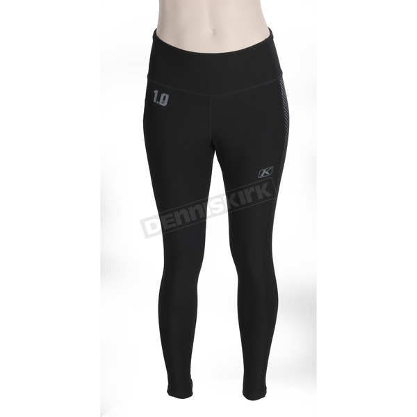 Klim Women's Black Solstice 1.0 Base Layer Pants - 4021-003-150-000