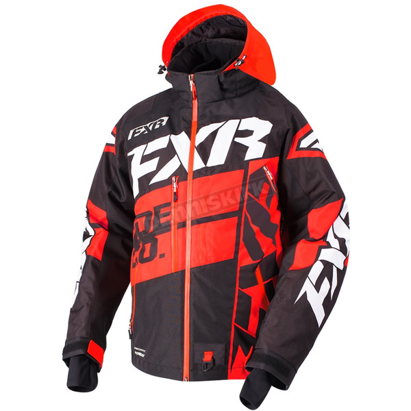 FXR Racing Black/Red/White Boost X Jacket - 180029-1020-19
