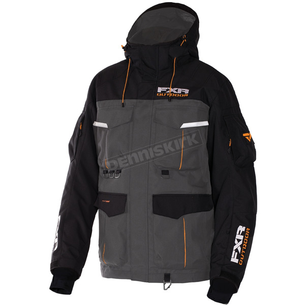 FXR Racing Charcoal/Black Excursion Jacket - 170013-0810-22