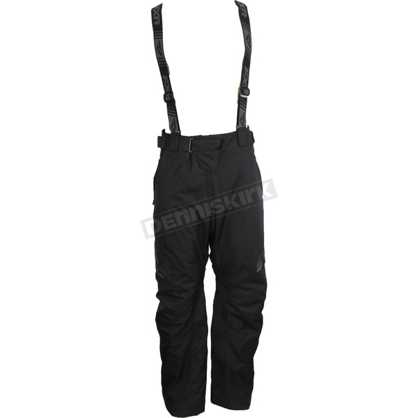 FXR Racing Black Fuel Waist Pants - 180102-1000-16