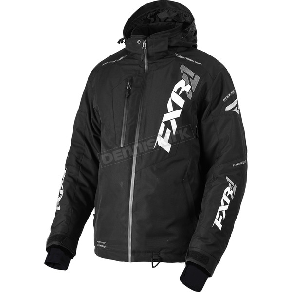 FXR Racing Black Mission FX Jacket - 180031-1000-13