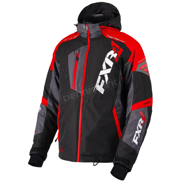 FXR Racing Black/Red/Charcoal Mission FX Jacket - 180031-1020-19