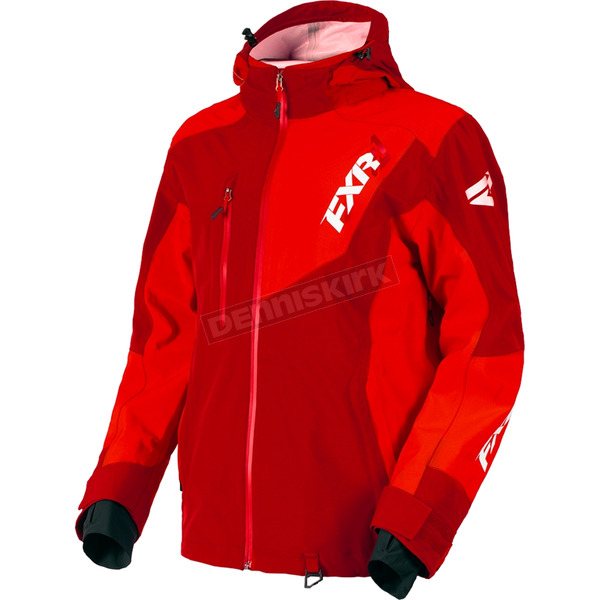FXR Racing Maroon/Red Mission Lite Tri-Lam Jacket - 180014-2520-19