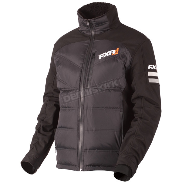 FXR Racing Black Paddock Down Jacket - 180903-1000-22