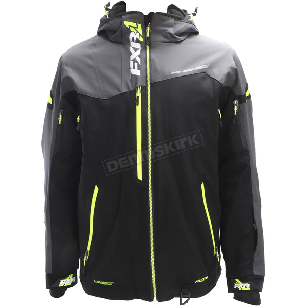 FXR Racing Black/Charcoal/Hi-Vis Renegade X Jacket - 180018-1008-19