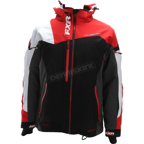 FXR Racing Black/Red/White Weave Renegade X Jacket - 180018-2010-13