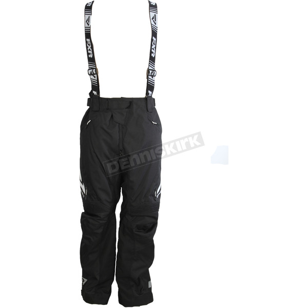 FXR Racing Black/White X System Pants - 180110-1001-13