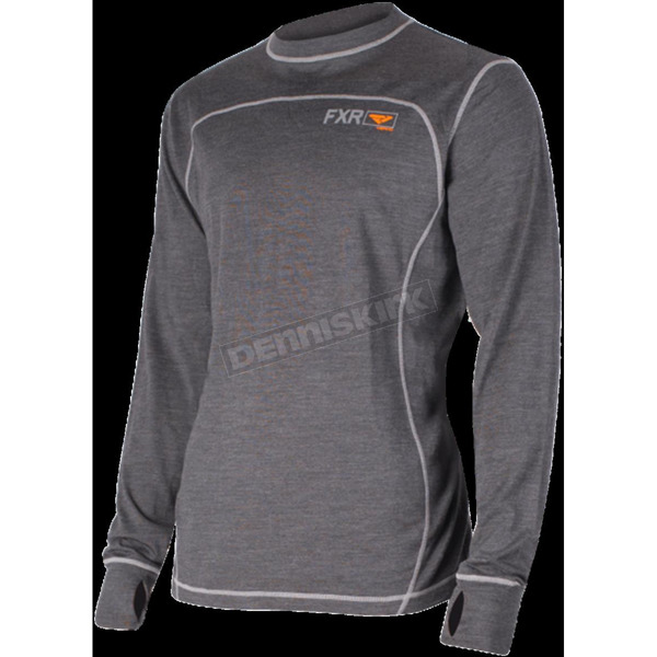 FXR Racing 50% Merino Vapour Long Sleeve Shirt - 181319-0830-19