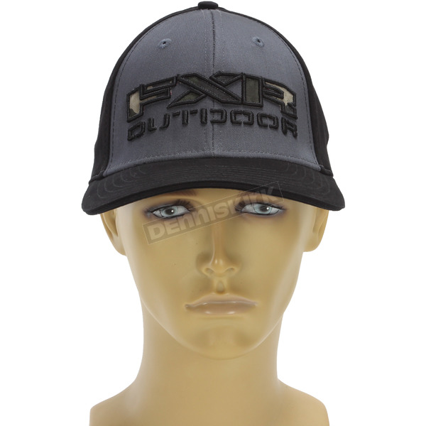 FXR Racing Charcoal.Army Urban Camo Infantry Hat - 171625-0876-08