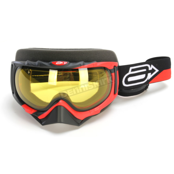 Arctiva Red/Black Rev Comp 2 Goggles - 2601-2106