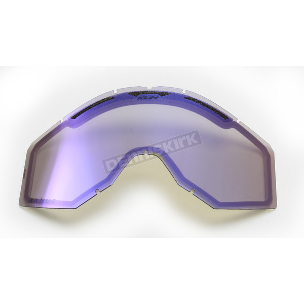 Klim Blue Mirror Replacement Lens for Radius Goggles - 7000-902-000-621