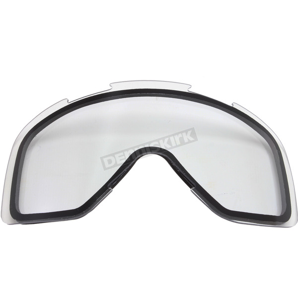FXR Racing Clear Replacement Dual Lens for Mission/Throttle Goggles - 173117-0000-00