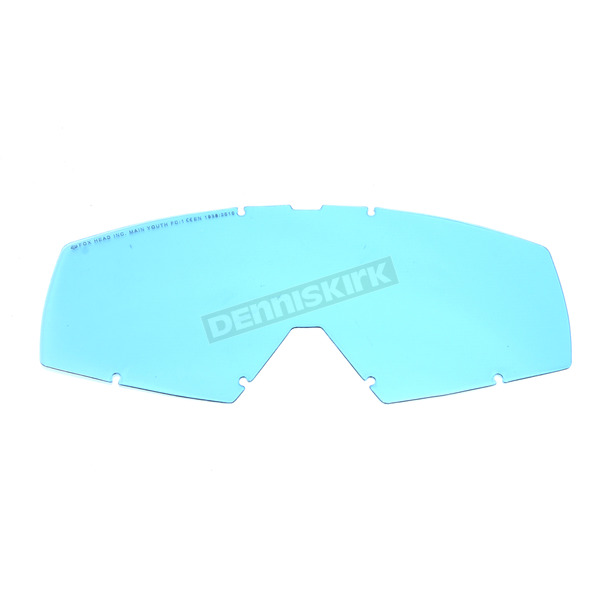 Fox Youth Blue Main Replacement Lens - 20051-002-OS