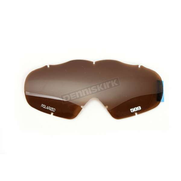509 Polarized Bronze Replacement Offroad Open Box Lens for MX-5 Goggles - 509-MX-X5LEN-13-PBR
