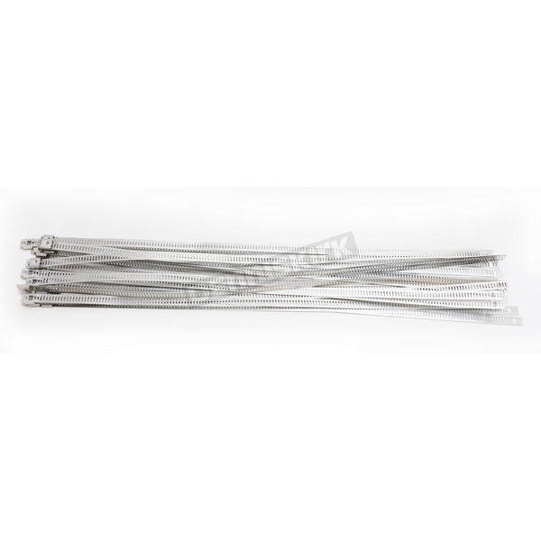 Cycle Performance Silver 14 in. Ladder Style Steel Tie Wraps - CPP/9077-20
