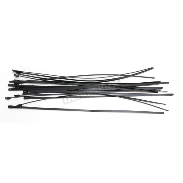 Cycle Performance Black 14 in. Steel Tie Wraps - CPP/9073-20