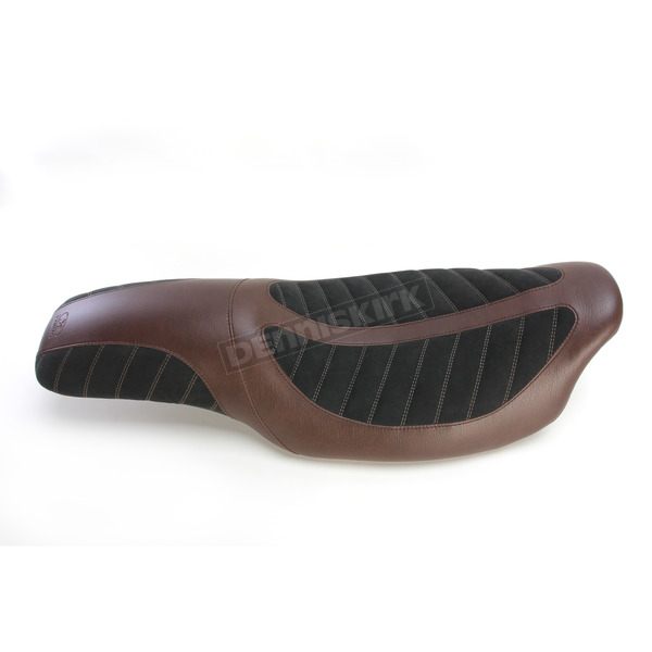 Mustang Seats Brown/Black Fred Kodlin Signature Series One-Piece Seat - 76293