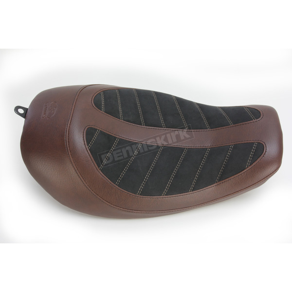 Mustang Seats Brown/Black Fred Kodlin Signature Series Solo Seat - 76299