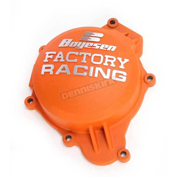 Boyesen Orange Factory Ignition Cover - SC-41CO