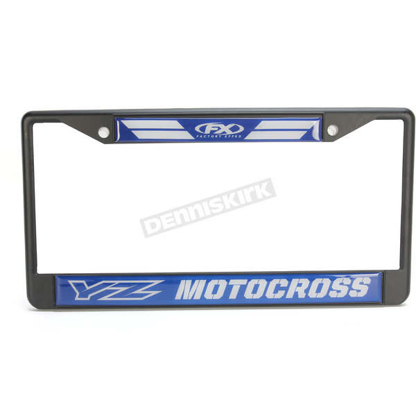 Factory Effex Yamaha License Plate Frame - 19-45200