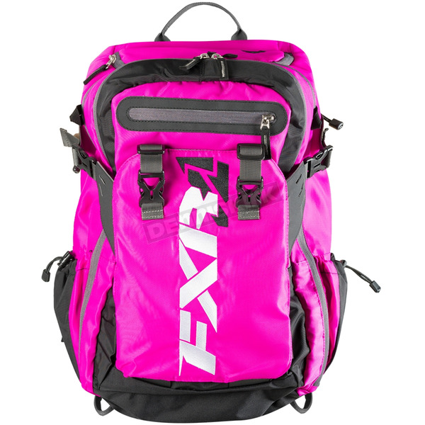 FXR Racing Fuchsia/Black Ride Pack - 183202-9010-00