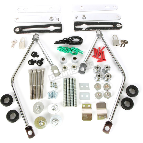 Complete Quick-Disconnect Saddlebag Mounting Kit - 3501-0344