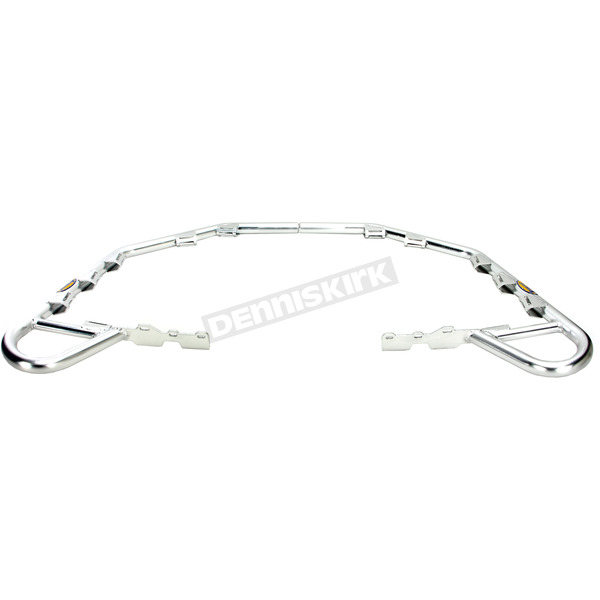 Motorsport Products Silver Nerf Bars - 81-3001