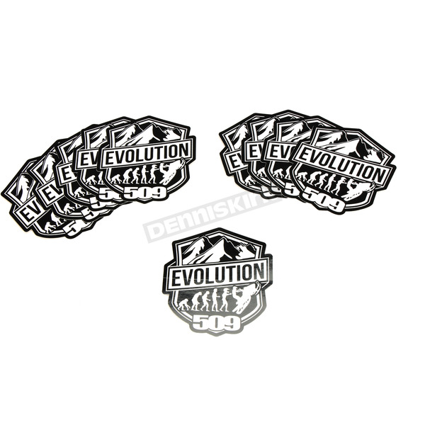 4 in. Evolution Stickers - 509-STK-EV4-10