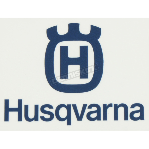 Husqvarna 3 in. Squared Icon Decal - 40-70-108