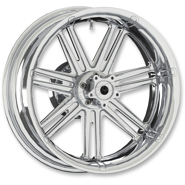 Arlen Ness Chrome 7 Valve 18x5.5 Forged Aluminum Rear Wheel (ABS) - 10302-203-65