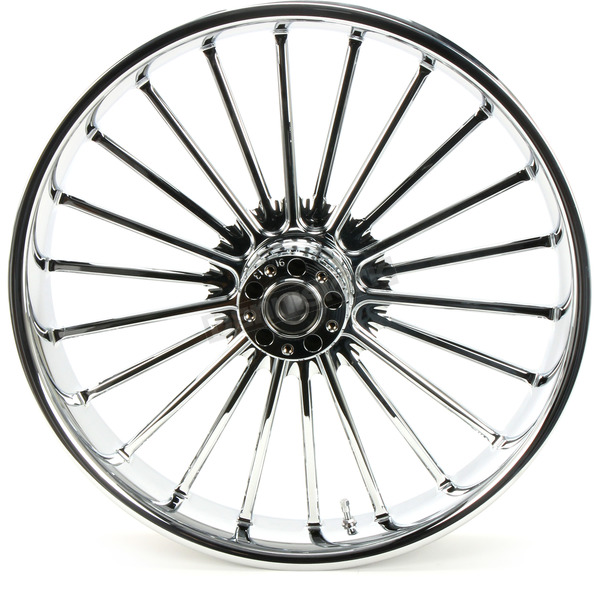 RC Components Front 21 in. x 3.5 in. One-Piece Illusion Forged Aluminum Wheel w/o ABS - 21350-9031-126C