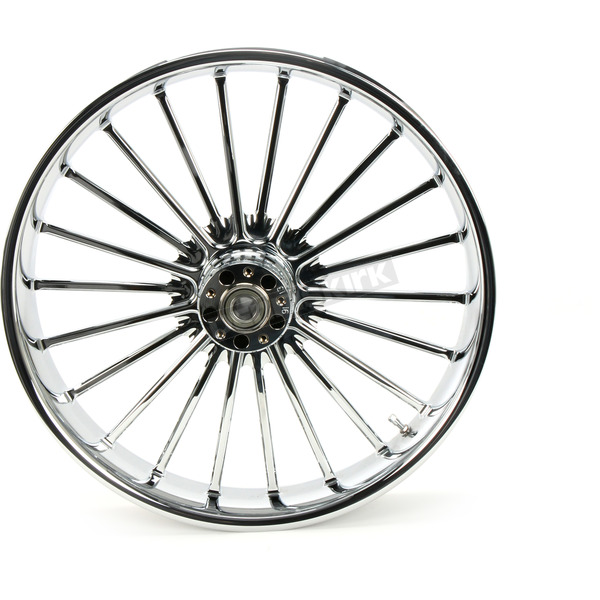 RC Components Front 21 in. x 3.5 in. One-Piece Illusion Forged Aluminum Wheel w/ABS - 21350-9031A126C