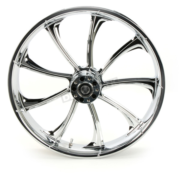RC Components Front 21 in. x 3.5 in. One-Piece Illusion Forged Aluminum Wheel w/o ABS - 21350-9031-124C