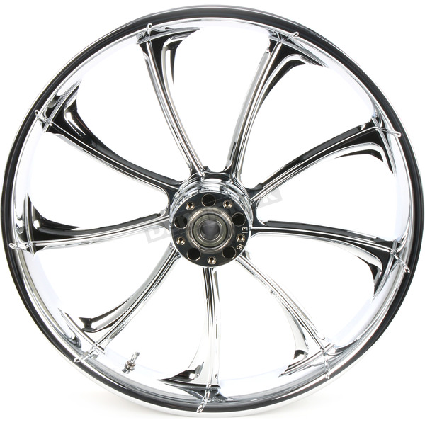 RC Components Front 21 in. x 3.5 in. One-Piece Illusion Forged Aluminum Wheel w/ABS - 21350-9031A-124